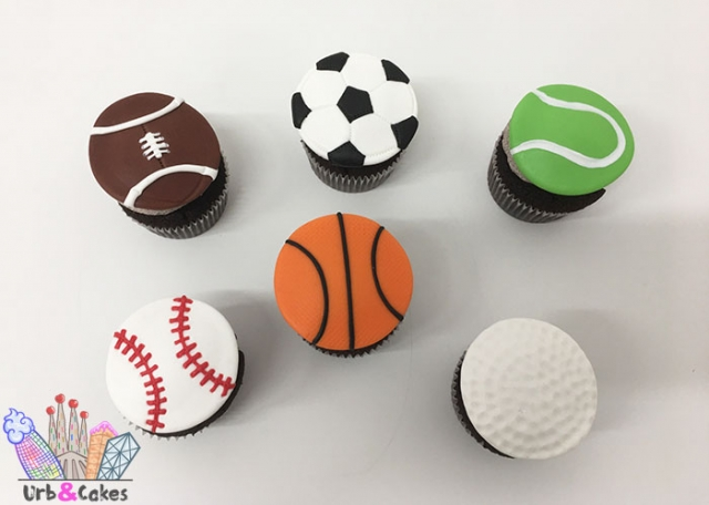 CupCakes deportes